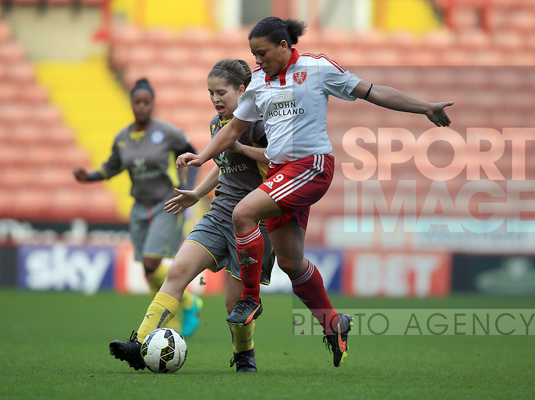 Sheffield United Ladies' Tania Marsden in action during the FA Women's Cup First Round match at Bramall Lane Stadium, Sheffield. Picture date: December 4th, 2016. Pic Clint Hughes/Sportimage