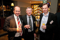 Mike Ward of Gateley, Simon Skill of Higson & Co and James Carnegie of Baker Tilly