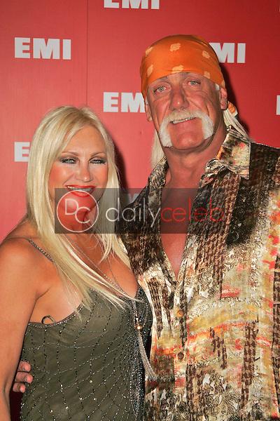 Hulk Hogan and wife Linda<br />at EMI's Post-Grammy Bash. Paramount Studios, Hollywood, CA. 02-08-06<br />Dave Edwards/DailyCeleb.com 818-249-4998