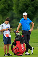 Sebastian Heisele (GER) on the 5th fairway during Round 1 of the D+D Real Czech Masters at the Albatross Golf Resort, Prague, Czech Rep. 31/08/2017<br /> Picture: Golffile | Thos Caffrey<br /> <br /> <br /> All photo usage must carry mandatory copyright credit     (&copy; Golffile | Thos Caffrey)