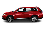 Car driver side profile view of a 2019 Mitsubishi Outlander SEL 5 Door SUV