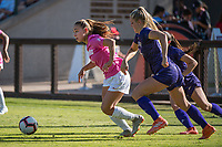 STANFORD, CA - OCTOBER 12: Carly Malatskey #6 of the Stanford Cardinal during a game between the Stanford Cardinal and Washington Huskies women's soccer teams at Cagan Stadium on October 6, 2019 in Stanford, California. during a game between University of Washington and Stanford Soccer W at Laird Q. Cagan Stadium on October 12, 2019 in Stanford, California.