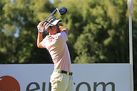 Eduardo de la Riva (ESP) during Wednesday's Pro-Am of the 2014 Irish Open held at Fota Island Resort, Cork, Ireland. 18th June 2014.<br /> Picture: Eoin Clarke www.golffile.ie