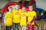 At the The Active Kingdom  Family Fun Day in support of and in association with the 'Enable Ireland Kerry Services on Sundaywere Catherine Healy, Sean Scally, Bridie Courtney and Maria Kane
