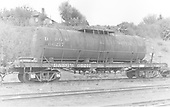End side view of tank type water car #06217 at Durango.<br /> D&amp;RGW  Durango, CO  Taken by Payne, Andy M.