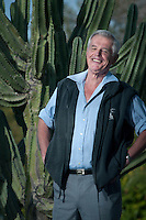 Author Graham Clews has penned and self-published four novels including three based on Roman-era England. He spends the winter months in Sun City West Arizona where he writes in his makeshift office, using an oak dining table as his desk.