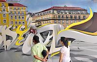SAO PAULO, SP, 22 DE JANEIRO DE 2013 - Bienal Internacional Graffiti Fine Art, lança sua segunda edição no MuBE com diversos artistas brasileiros e internacionais. As atividades de graffiti estão por todo o museu e fica até dia 22 de fevereiro, com entrada franca. FOTO: THAIS RIBEIRO/ BRAZIL PHOTO PRESS