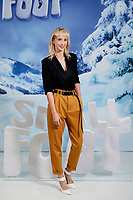 Ingrid Garcia-Jonsson attends to 'Small Foot' photocall at Urso Hotel in Madrid, Spain. October 04, 2018. (ALTERPHOTOS/A. Perez Meca) /NortePhoto.com NORTEPHOTOMEXICO