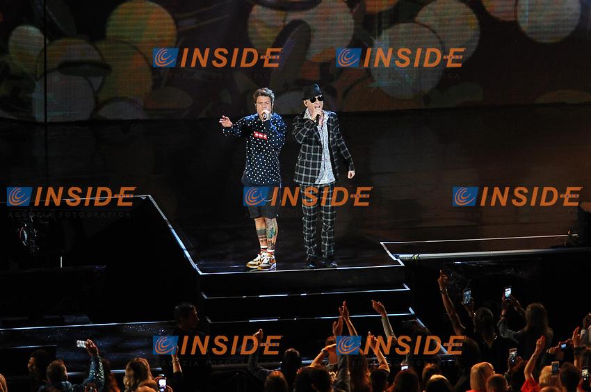 J-AX e Fedez<br /> Verona 05-06-2017 Arena <br /> Wind Music Awards 2017 <br /> Foto Alberto Anello/Photoring/Insidefoto