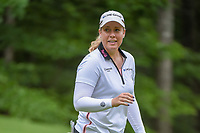 Brittany Lincicome (USA) after sinking her putt on 13 during round 2 of the U.S. Women's Open Championship, Shoal Creek Country Club, at Birmingham, Alabama, USA. 6/1/2018.<br /> Picture: Golffile | Ken Murray<br /> <br /> All photo usage must carry mandatory copyright credit (&copy; Golffile | Ken Murray)