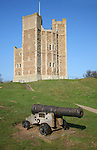 Orford castle, Orford, Suffolk, England