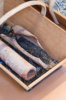 earthenware tubes used for drainage chateau d'yquem sauternes bordeaux france