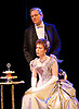 An Ideal Husband by Oscar Wilde<br /> at Festival Theatre Chichester, Great Britain <br /> 25th November 2014 <br /> <br /> directed by Rachel Kavanaugh <br /> <br /> <br /> <br /> Laura Rogers as Lady Chiltern <br /> <br /> Robert Bathurst as Sir Robert Chiltern <br /> <br /> <br /> <br /> <br /> <br /> <br /> Photograph by Elliott Franks <br /> Image licensed to Elliott Franks Photography Services