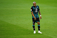 Andre Ayew of Swansea City looks dejected during the Sky Bet Championship match between Nottingham Forest and Swansea City at the City Ground Stadium in Nottingham, England, UK. Wednesday 15 July 2020