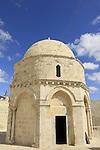 Israel, Jerusalem, the Ascension Chapel on the Mount of Olives