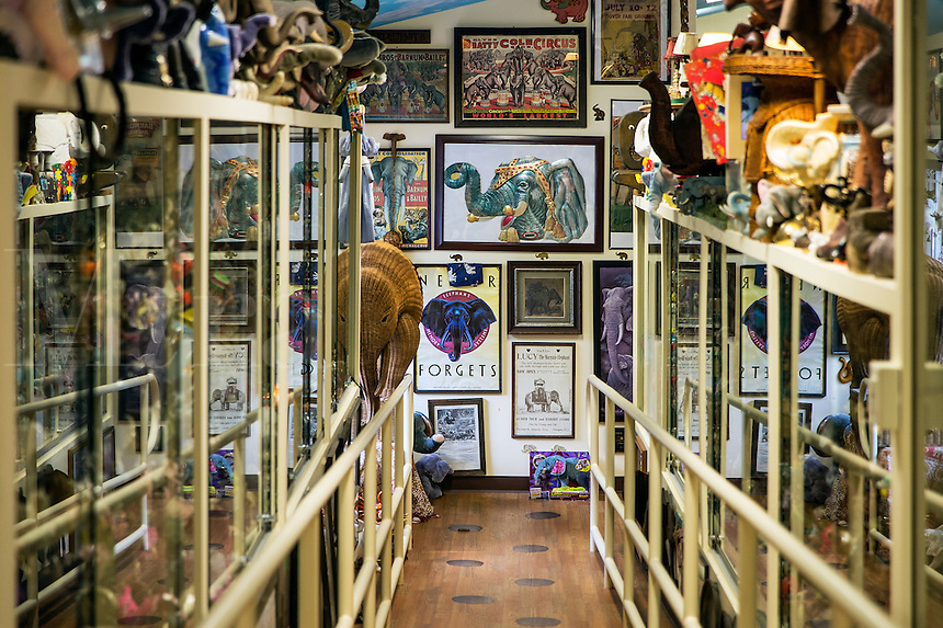 Mister Ed's Elephant Museum and candy shop, Orrtanna, Pennsylvania, USA
