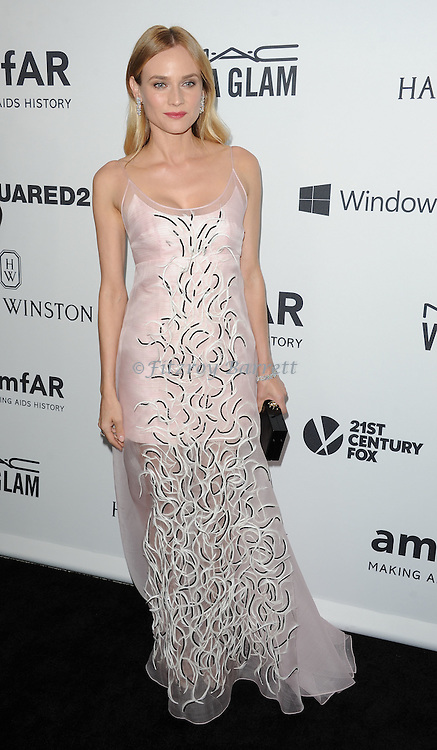 Diane Kruger arriving at Amfar's Inspiration Gala held at Milk Studios in Los Angeles, CA. October 29, 2015