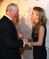 07 February 2019 - Prince Charles, Prince Of Wales meets Geri Halliwell during the Prince's Trust Invest In Futures Reception at The Savoy Hotel in London. Over the past 13 years, The Princes Trusts 'Invest in Futures' event has encouraged donors to help disadvantaged young people into work, training or enterprise. Photo Credit: ALPR/AdMedia