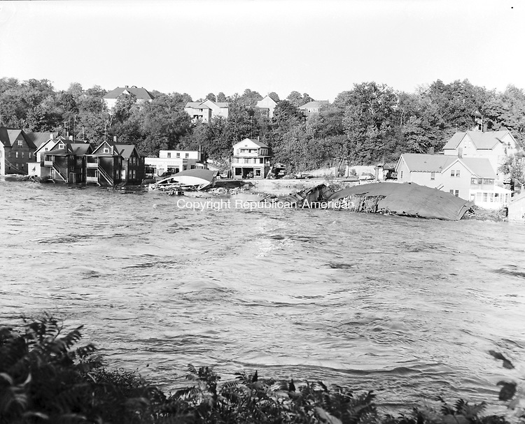 August 19-19, 1955. During the flood.