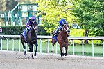 By My Standards(1) with jockey Gabriel Saez, aboard during the Oaklawn Handicap at Oaklawn Racing Casino Resort in Hot Springs, Arkansas on May 2, 2020. Ted McClenning/Eclipse Sportswire/CSM