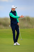 Aaron Marshall of Ireland during Day 3 / singles of the Boys' Home Internationals played at Royal Dornoch Golf Club, Dornoch, Sutherland, Scotland. 09/08/2018<br /> Picture: Golffile | Phil Inglis<br /> <br /> All photo usage must carry mandatory copyright credit (&copy; Golffile | Phil Inglis)
