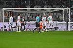 06.10.2019, Commerzbankarena, Frankfurt, GER, 1. FBL, Eintracht Frankfurt vs. SV Werder Bremen, <br /> <br /> DFL REGULATIONS PROHIBIT ANY USE OF PHOTOGRAPHS AS IMAGE SEQUENCES AND/OR QUASI-VIDEO.<br /> <br /> im Bild: Sebastian Rode (Eintracht Frankfurt #17) trifft das Tor zum 1:1<br /> <br /> Foto © nordphoto / Fabisch