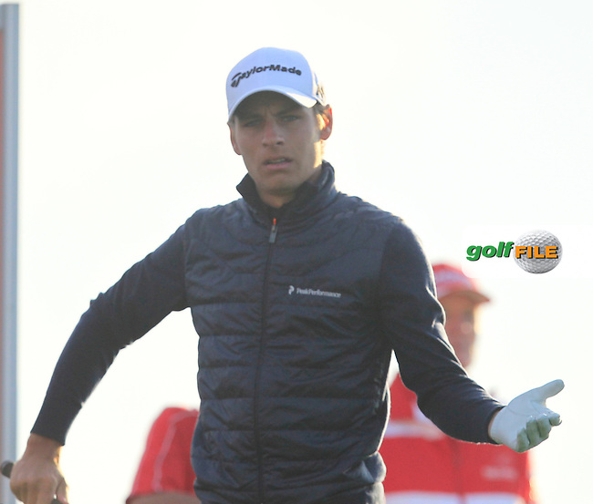 Joakim Lagergren (SWE) on the 11th tee during Round 1 of the Made in Denmark 2016 at the Himmerland Golf Resort, Farso, Denmark on Thursday 25th August 2016.<br /> Picture:  Thos Caffrey / www.golffile.ie<br /> <br /> All photos usage must carry mandatory copyright credit   (&copy; Golffile | Thos Caffrey)