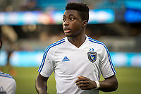 San Jose, CA - Tuesday June 11, 2019: Jacob Akanyirige #29 before the US Open Cup match between the San Jose Earthquakes and Sacramento Republic FC at Avaya Stadium.