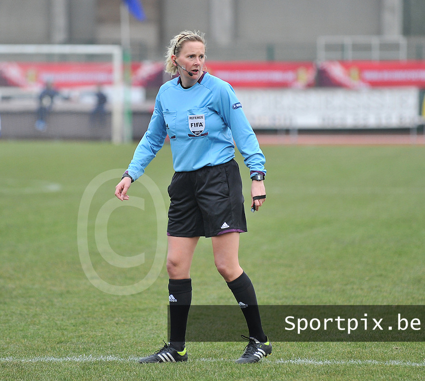 France U19 - Belgium U19 :.Rhona Daly (IRL) .foto DAVID CATRY / Nikonpro.be