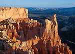 Hoodoos at Bryce Canyon in late afternoon light, Bryce Canyon National Park, Utah, USA