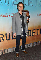 """10 January 2019 - Hollywood, California - Matthew McConaughey. """"True Detective"""" third season premiere held at Directors Guild of America.   <br /> CAP/ADM/BT<br /> ©BT/ADM/Capital Pictures"""