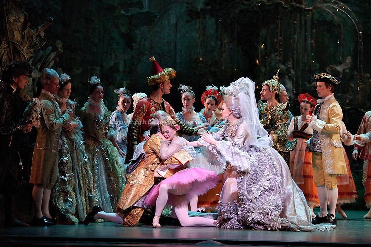 Texas Ballet Theater perform The Sleeping Beauty at the Winspear Opera House on June 10, 2010 in Dallas, TX. Ben Stevenson O.B.E.