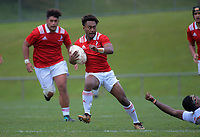 Peni Lasaqa in action during the rugby match between New Zealand Schools Barbarians and Fiji Schools at Jerry Collins Stadium in Porirua, Wellington, New Zealand on Monday, 1 October 2018. Photo: Dave Lintott / lintottphoto.co.nz