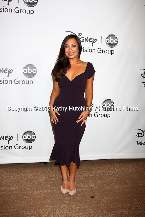 LOS ANGELES - JUL 27:  Cheryl Burke arrives at the ABC TCA Party Summer 2012 at Beverly Hilton Hotel on July 27, 2012 in Beverly Hills, CA