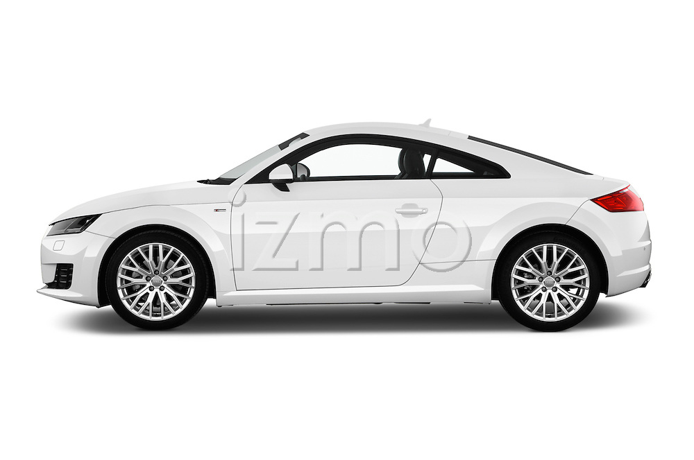 Car Driver side profile view of a 2015 Audi TT Coupe S Line 3 Door Coupe Side View