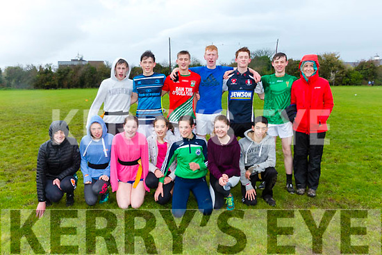 At the Kerry ETB tag rugby tournament at Tralee Sports Complex on Friday were  Coláiste na Sceilge Caherciveen B Team