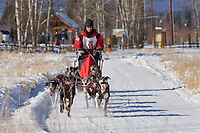 Ken Chezik races in the 2008 Open North American Championship sled dog race, third heat, March 16, 2008.