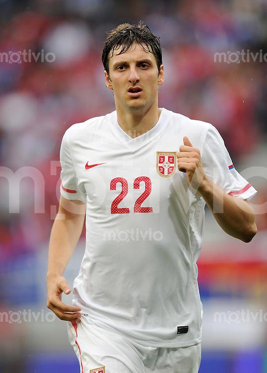 Fussball International:  Testspiel   29.05.2010 Neuseeland - Serbien  Zdravko KUZMANOVIC (Serbien)