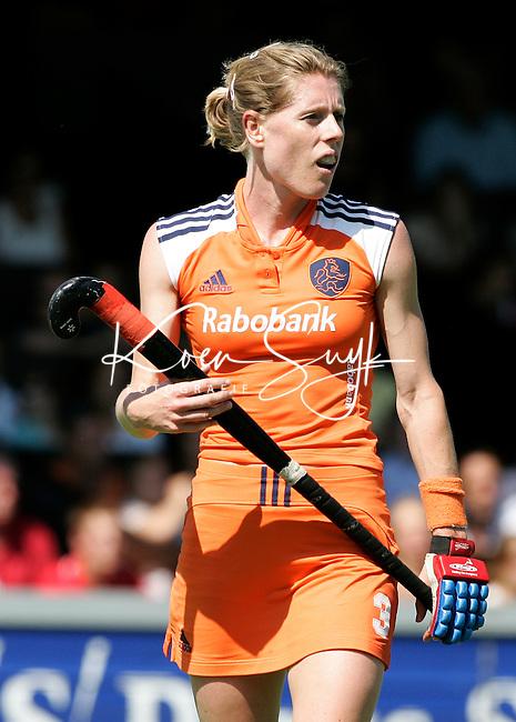 AMSTELVEEN: Champions Trophy 2006 dames. Eefke Mulder.  ANP PHOTO KOEN SUYK