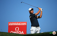 Byeong Hun-An (KOR) during the Final Round of the 2016 Omega Dubai Desert Classic, played on the Emirates Golf Club, Dubai, United Arab Emirates.  07/02/2016. Picture: Golffile | David Lloyd<br /> <br /> All photos usage must carry mandatory copyright credit (&copy; Golffile | David Lloyd)