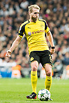 Borussia Dortmund Andre Schurrle  during Champions League match between Real Madrid and Borussia Dortmund  at Santiago Bernabeu Stadium in Madrid , Spain. December 07, 2016. (ALTERPHOTOS/Rodrigo Jimenez)