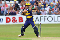 Colin Ingram in batting action for Glamorgan during Essex Eagles vs Glamorgan, NatWest T20 Blast Cricket at the Essex County Ground on 29th July 2016