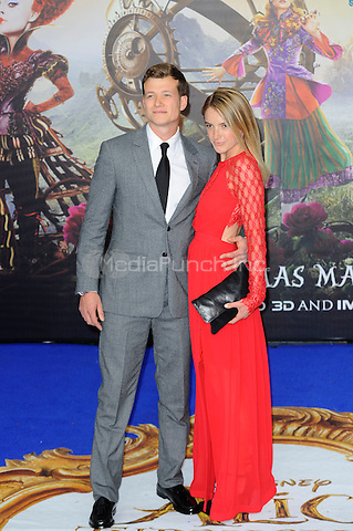 LONDON, ENGLAND - MAY 10: Ed Speleers and Asia Macey attending the 'Alice Through The Looking Glass' European Premiere at Odeon Cinema, Leicester Square in London. on May 10, 2016 in London, England.<br /> CAP/MAR<br /> &copy; Martin Harris/Capital Pictures /MediaPunch ***NORTH AND SOUTH AMERICA ONLY***