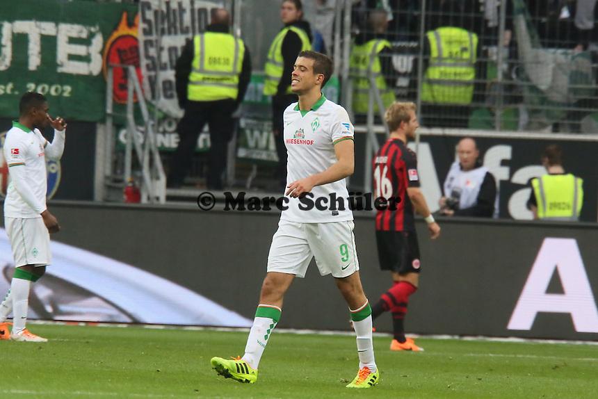 Franco di Santo (Werder) verletzt - Eintracht Frankfurt vs. SV Werder Bremen