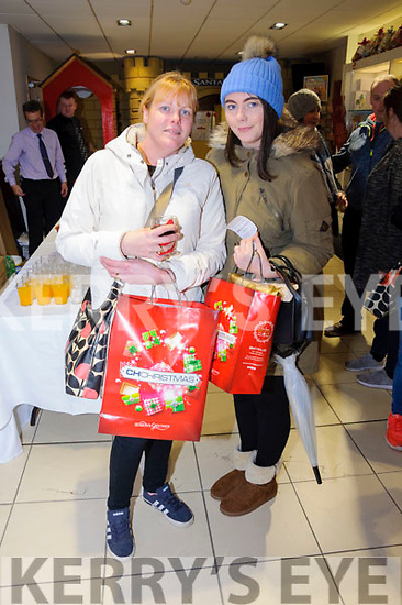 Caroline and Shelly McKenna grabbed a few bargains at the CH Chemists' Christmas Shopping Event last Friday.