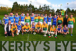 Keey Ledgends Weekend: Great Kerry fooballers pictured with the Sam Maguire & Tom Markham cups  in Finuge on Saturday last at the Exhibition game during the Finuge GAA clubs Kerry Legends Weekend.
