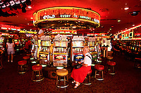 Las Vegas gambling city in Nevada, USA