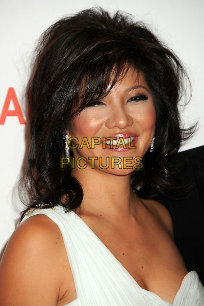 "JULIE CHEN .LACMA's ""The Unmasking"" of the Lynda & Stewart Resnick Exhibition Pavilion Opening Gala held at the Los Angeles County Museum of Art, - Los Angeles, California, USA, 25th September 2010..portrait headshot white smiling .CAP/ADM/BP.©Byron Purvis/AdMedia/Capital Pictures."