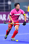 Manabu Yamashita (JPN), <br /> SEPTEMBER 1, 2018 - Hockey : <br /> Men's Final match between <br /> Japan 6-6(3-1) Malaysia <br /> at Gelora Bung Karno Hockey Field <br /> during the 2018 Jakarta Palembang Asian Games <br /> in Jakarta, Indonesia. <br /> (Photo by Naoki Nishimura/AFLO SPORT)