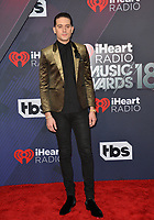 G-Eazy at the 2018 iHeartRadio Music Awards at The Forum, Los Angeles, USA 11 March 2018<br /> Picture: Paul Smith/Featureflash/SilverHub 0208 004 5359 sales@silverhubmedia.com